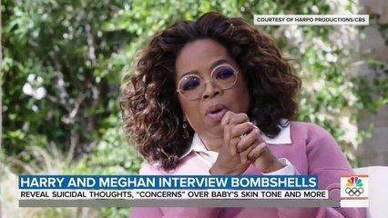 Meghan Markle Accuses Royal Family Of Racism In Bombshell Interview With Oprah _ TODAY
