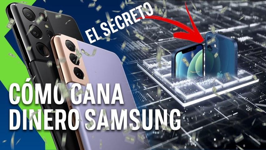 Así gana dinero Samsung: el secreto está en el IPHONE