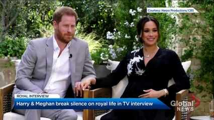 Meghan Markle, Prince Harry break their silence in 1st interview since royal departure