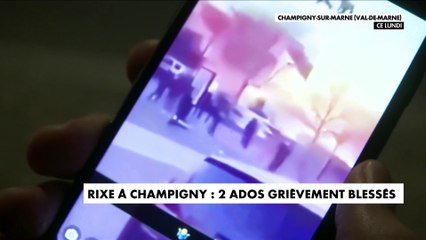 Rixe à Champigny : deux ados grièvement blessés