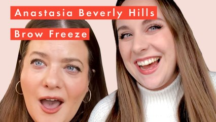 Anastasia Beverly Hills Brow Freeze styling wax review and tutorial for feathery brows