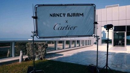 كواليس جلسة التصوير الخاصة بمجلّة جمالكِ مع نانسي عجرم وCartier