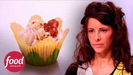 Defumados ou queimados: cupcakes de bacon e salmão | A Guerra Dos Cupcakes | Food Network Brasil