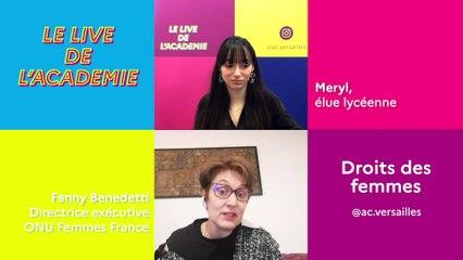 Le live de l'académie du 8 mars : Journée internationale des droits des femmes
