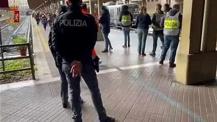 Controlli sulla Roma - Lido, 97 persone identificate