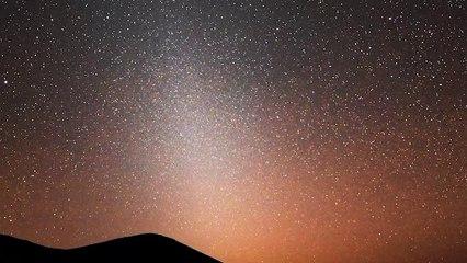 Marte es el responsable de la luz zodiacal que se ve desde la Tierra
