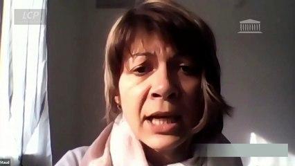 """""""Le dépeçage progressif d'EDF depuis 2004 ne l'a pas rendue plus compétitive"""", déplore Maud Mathieu, déléguée syndicale CGT."""
