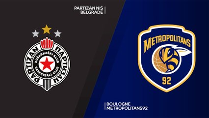 7Days EuroCup Highlights Top 16, Round 6: Partizan 70-75 Metropolitans