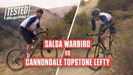 Salsa Warbird vs Cannondale Topstone   TESTED