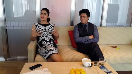 Dilwale stars Shah Rukh and Kajol talk about love, relationships