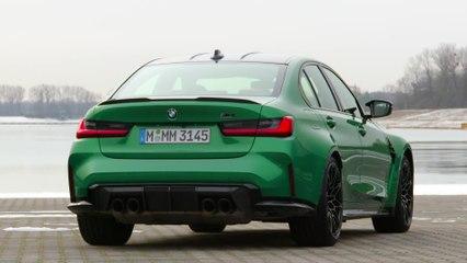 التصميم الخارجي للسيارة BMW M3 المنافسة الجديدة كليًا