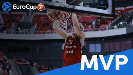 MVP of the Week: Mindaugas Kuzminskas, Lokomotiv
