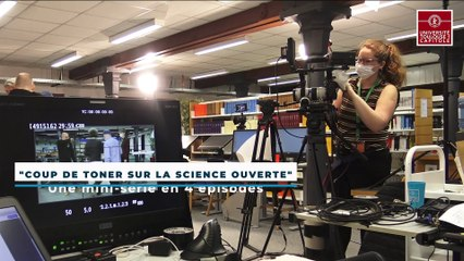 """UT1 making-of """"Coup de toner sur la science ouverte"""""""