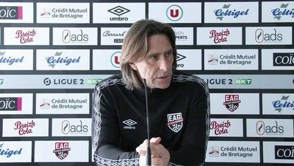 Ajaccio - Guingamp   Ligue 2 BKT - J29   Le point presse de Fred Bompard