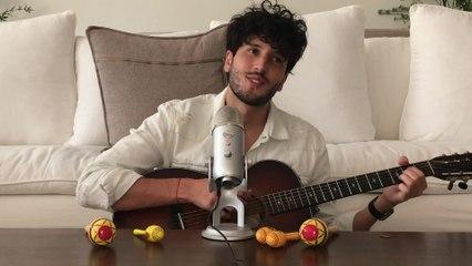 """Sebastián Yatra Does ASMR w/ Maracas, Talks """"Chica Ideal"""" & Love For Colombia"""