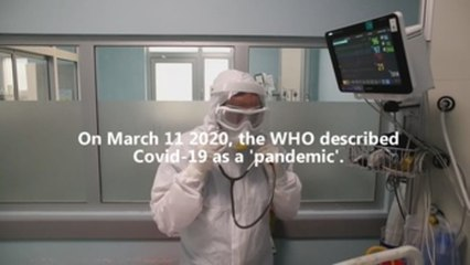 First cases of coronavirus a year later