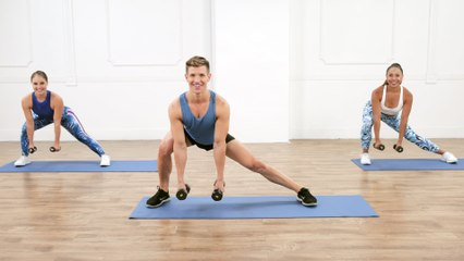 Join Jake DuPree For a Fast-Paced and Challenging 20-Minute Arm Workout