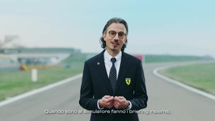 Ferrari SF21 - Laurent Mekies, Racing Director