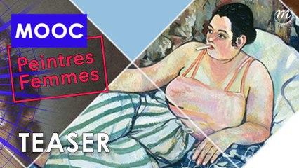 MOOC Peintres femmes : les inscriptions sont ouvertes !