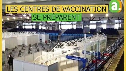 Pepinster : le centre de vaccination se prépare