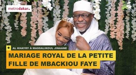 AL KHAYRY: Le MARIAGE ROYAL de la petite fille du Milliardaire MBACKIOU FAYE