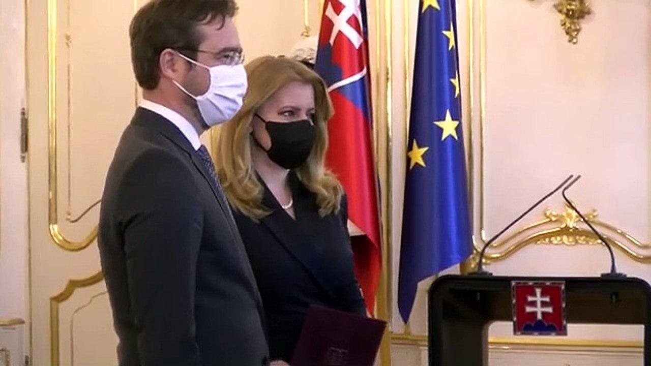 ZÁZNAM: Prezidentka Z. Čaputová prijala demisiu ministra zdravotníctva M. Krajčího