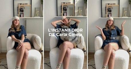 Interview : l'instant Dior de Carla Ginola, influenceuse mode