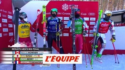 Howden intouchable, le Français Tchiknavorian 4e - Skicross - CM (H)