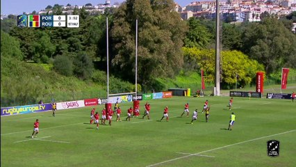 HIGHLIGHTS - PORTUGAL/ROMANIA - RUGBY EUROPE CHAMPIONSHIP 2021