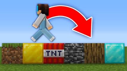 Minecraft, But Random Blocks Spawn When You Walk...