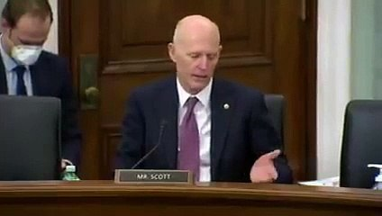 Rick Scott grills Biden nominee over -Communist China-