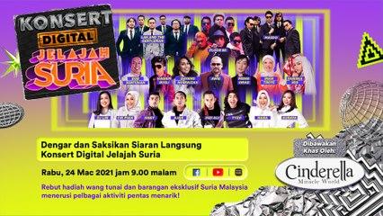 Konsert Digital Jelajah Suria | Dato' Awie, Dayang Nurfaizah, Misha Omar dan ramai lagi!