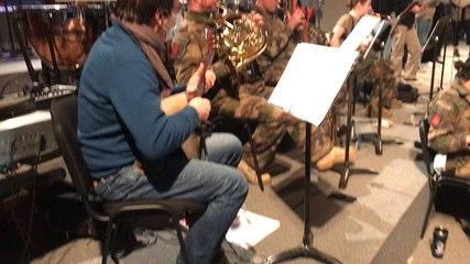 Un projet musical entre l'armée et l'Education nationale