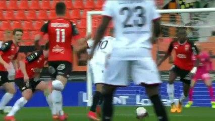 Le résumé de la rencontre FC Lorient - OGC Nice (1-1) 20-21