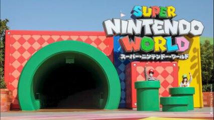 Le monde Nintendo a désormais son parc d'attraction au Japon