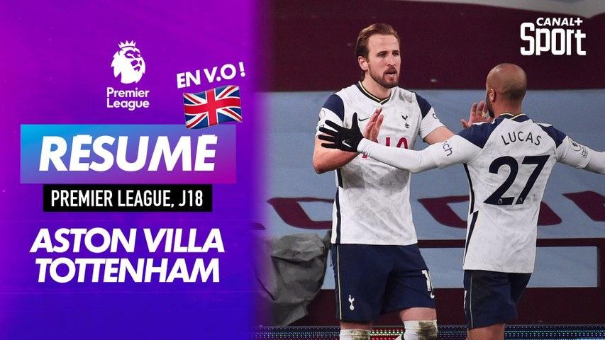 Le résumé d'Aston Villa / Tottenham en VO - Premier League J18