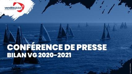 Conférence de presse - Bilan Vendée Globe 2020-2021 [FR]