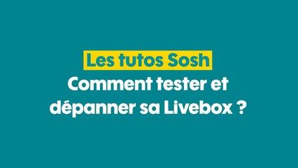 MySosh - Dépanner sa Livebox