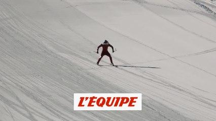 Simon Billy a plus de 170 km/h en vidéo - Ski de vitesse - CM (H)