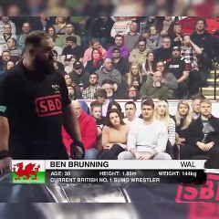 Britain's Strongest Man competition at Sheffield Arena
