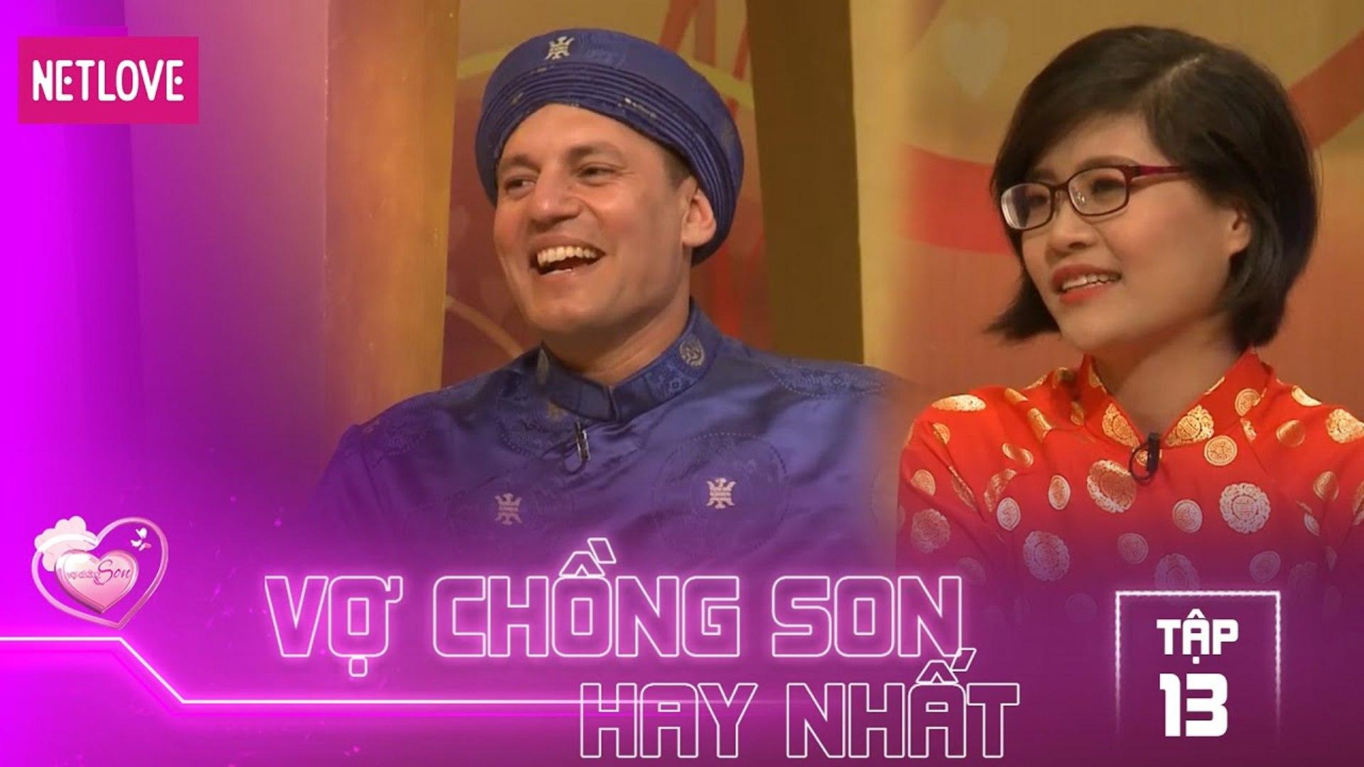 Vợ Chồng Son Hay Nhất - Tập 13: Chàng trai Ý chạy xe máy xuyên Việt tham gia ghi hình vợ chồng son