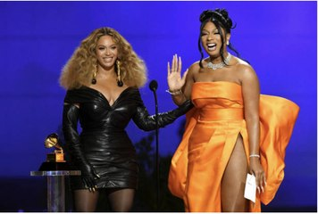 Megan Thee Stallion and Beyonce Have Made History at the Grammys
