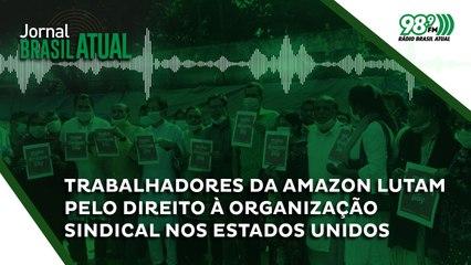 Trabalhadores da Amazon lutam pelo direito à organização sindical nos Estados Unidos