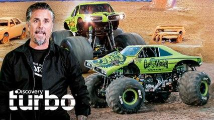 Dos  Monster Trucks de Gas Monkey | El Dúo mecánico | Discovery Turbo