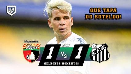 GOLAÇO E CLASSIFICAÇÃO DO PEIXE   Deportivo Lara 1 x 1 Santos   Melhores Momentos   HD/16/03/2021