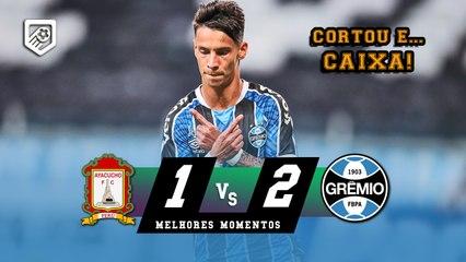 GOLAÇO DE FERREIRINHA   Ayacucho 1 x 2 Grêmio   Melhores Momentos   HD 16/03/2021