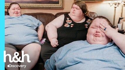 Amy rompe en llanto por el sobrepeso de Tammy | Kilos Mortales: Las Hermanas Slaton | Discovery H&H