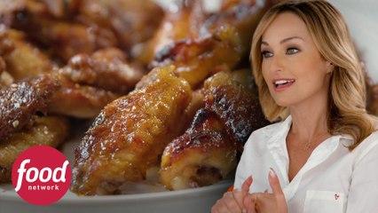 Alitas de pollo y 2 salsas ideales para compartir | A gusto con Giada | Food Network Latinoamérica
