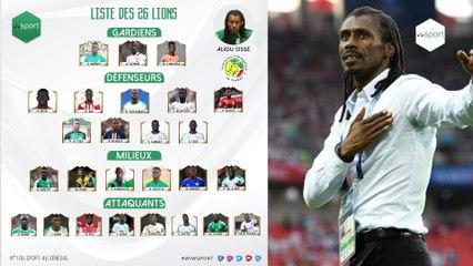 Découvrez la nouvelle liste d'Aliou Cissé: 26 lions convoqués