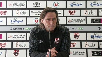 EAG - Rodez   J30 - Ligue 2 BKT : La conférence de presse d'avant-match de Fred Bompard